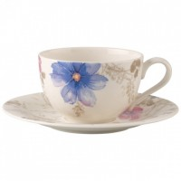 Mariefleur Gris Basic Cappuccino Cup & Saucer