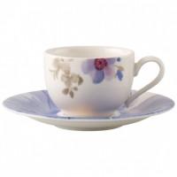 Mariefleur Gris Basic Mokka/Espresso Cup & Saucer