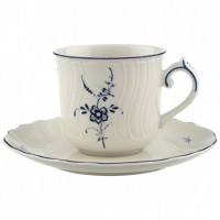 Vieux Luxembourg Coffee Cup with Saucer