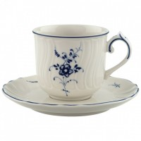 Vieux Luxembourg Mokka/Espresso Cup with Saucer