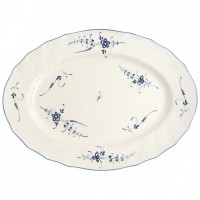 Vieux Luxembourg Oval Plateau 43 cm