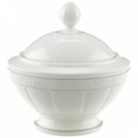Gray Pearl Sugar Bowl