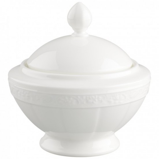 White Pearl Sugar Bowl