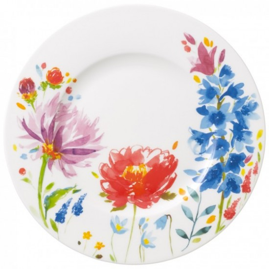 Anmut Flowers Breakfast Plate 22 cm