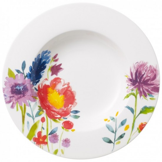Anmut Flowers Soup Plate 24 cm