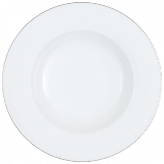 Anmut Platinum No.1 Soup Plate 24 cm