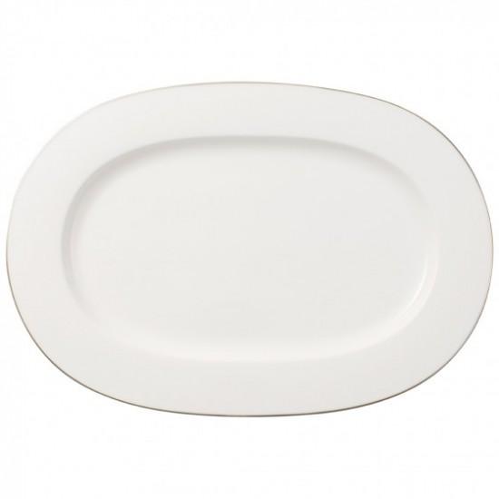 Anmut Platinum No.1 Oval Platter 41 cm