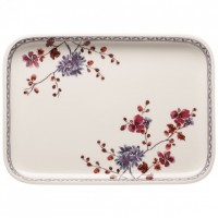 Artesano Provençal Lavendel Rectangular Serving Dish / Cover 36 x 26 cm