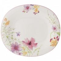 Mariefleur Basic Oval Flat Plate 29 x 25 cm