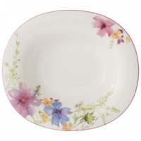 Mariefleur Basic Oval Soup Plate 24 x 21 cm
