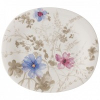 Mariefleur Gris Basic Oval Breakfast Plate 23 x 19 cm
