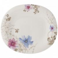 Mariefleur Gris Basic Oval Flat Plate 29 x 25 cm