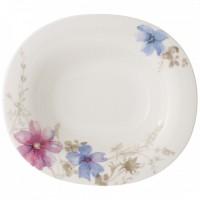Mariefleur Gris Basic Oval Soup Plate 24 x 21 cm