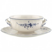 Vieux Luxembourg Soup Cup with Saucer 400 ml