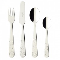 Chewy around the World Children Cutlery Set 4pcs