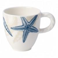 Montauk Beachside mocha/espresso cup