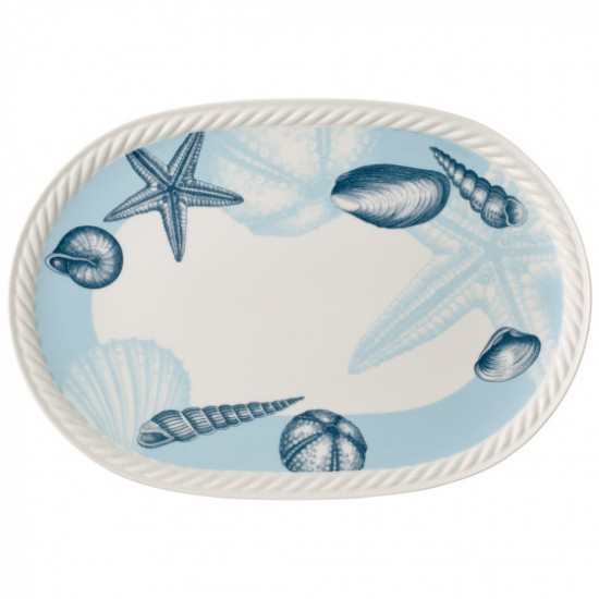 Montauk Beachside oval plate