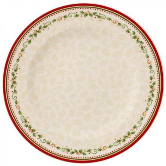 Winter Bakery Delight Dinner Plate : Falling Star