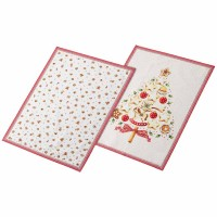 Winter Bakery Delight kitchen towels - 2 pieces