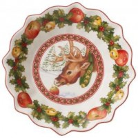 Toy's Fantasy small reindeer bowl