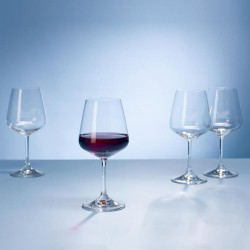 Ovid Red Wine goblet Set  4 pc