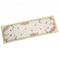 Spring Fantasy Gobelin Runner  New Flowers L 32 x 96 cm