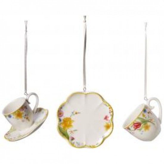 Spring  Awakening ornaments 3- piece set