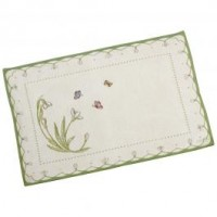 Colourful Spring Gobelin Placemat Snowdrop 32x48cm