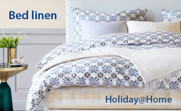 Bed linen from Holiday@Home