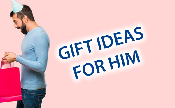Gift ideas for him from Holiday at Home